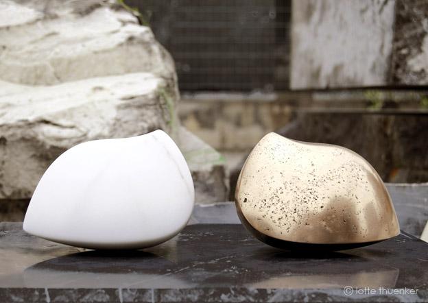 lotte thuenker blog curiosum I und II 02 2015 bronze und carrara-marmor